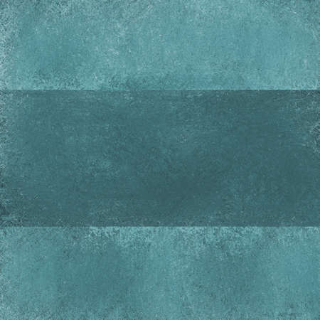 stripe: abstract blue green background with teal stripe and vintage grunge texture