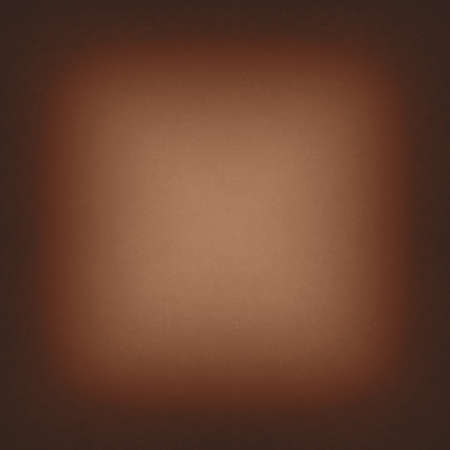 smooth: warm brown background black border or frame layout, elegant smooth bright center texture and dark vignette edge, abstract brown paper Stock Photo