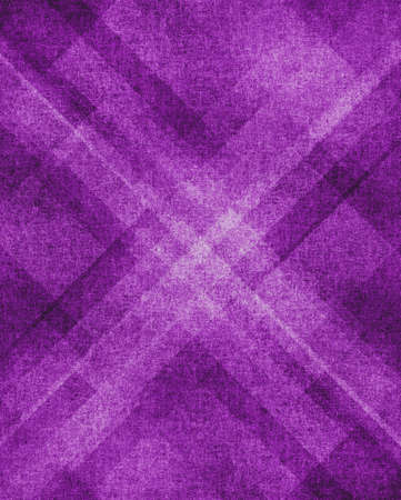 abstract paintings: abstract purple background luxury design, elegant purple white diamond plaid paper layout with geometric shapes, website template, vintage grunge background texture, paint wallpaper purple color layer Stock Photo
