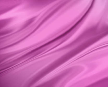 pink background abstract cloth or liquid wave illustration of wavy folds of silk or satin texture, pink luxurious background design