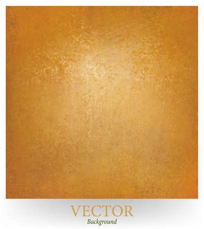 brown gold vector background design with abstract blended grunge vintage background texture, rich luxury background Vector