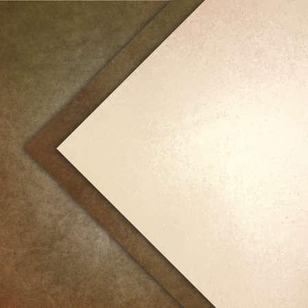 임의의 추상 패턴 계층화 추상적 인 각도 삼각형과 대각선 모양과 우아한 갈색 흰색 배경 질감 종이 스톡 콘텐츠