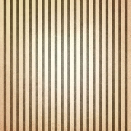 chic: faded vintage brown and beige striped background, shabby chic line design element on distressed texture