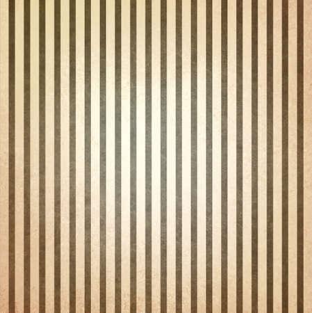 vervaagde vintage bruin en beige gestreepte achtergrond, shabby chic line design element op verontruste textuur Stockfoto