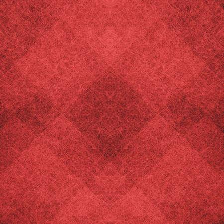 質地: 抽象的紅色背景光線暗的現代藝術設計佈局,紅色的聖誕背景的幾何形狀菱形框塊或方格的正方形,復古垃圾背景紋理的網站設計或海報