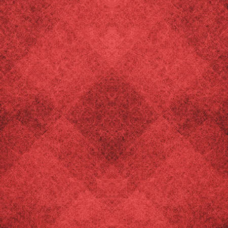 antiek behang: abstracte rode achtergrond licht donker moderne kunst ontwerp-layout, rode kerst achtergrond geometrische vorm diamant doos blokken of geruite pleinen, vintage grunge achtergrond textuur website design of poster