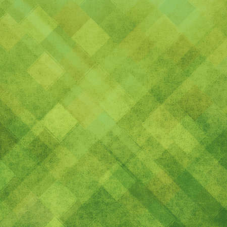graphic backgrounds: green geometric background shapes design Stock Photo