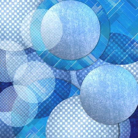 cubiertas: fondo abstracto azul, capas de color azul c�rculo formas en la composici�n patr�n art�stico azar, bolas flotantes azules o burbujas de dise�o