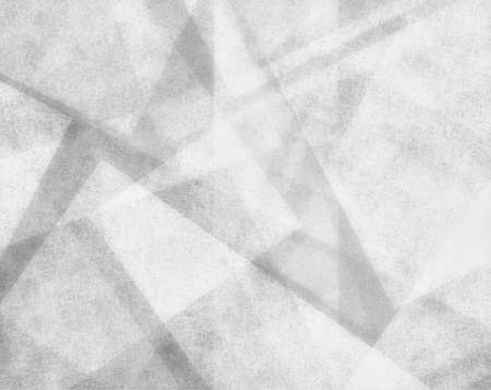abstract white background with white parchment paper geometric shapes and angles, fiber material background texture Standard-Bild