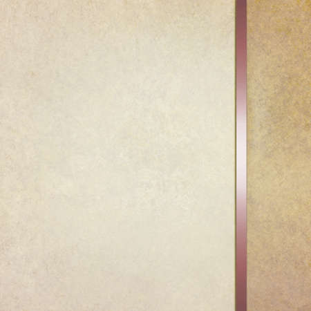 elegant blank beige brown background with sidebar template and vintage texture
