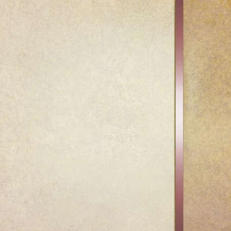 tekstura: Elegancki puste beżowy brązowy tło z szablonu paska bocznego i rocznika tekstury