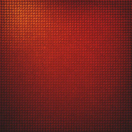grid pattern: luxury red background abstract grid pattern mesh design texture, light gold orange corner color, black border edge, graphic art image for brochure ad website background template, apps, poster banner Stock Photo