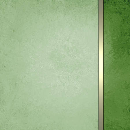 luxury green Christmas background formal design with gold ribbon layout for website or brochures, Christmas cards, scrapbooks, posters, and other graphic art designs photo