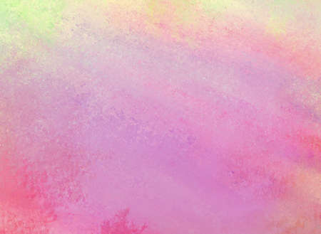 smeary: abstract soft yellow green purple pink background painted wall with smeary messy paint design with blurred colors and sponged texture