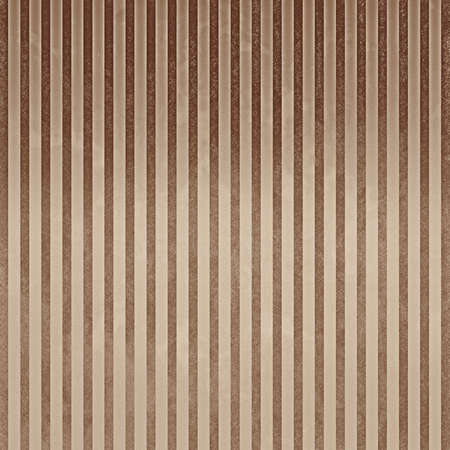 striped pattern background, vintage brown and beige pinstripes or vertical line design element, faint delicate texture photo