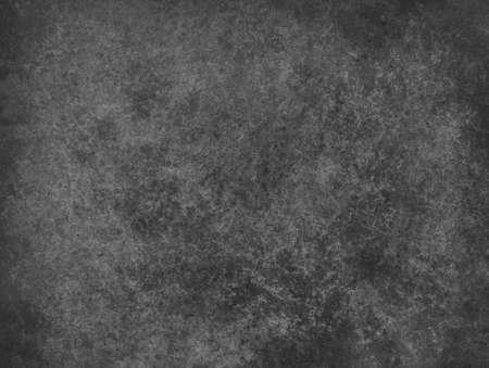 苦しめられた老化させたザラザラ、グランジ チャコール グレー色の背景と抽象的な黒の背景 写真素材