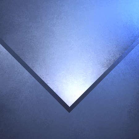 triangle blue shape layered on blue background, angled design element