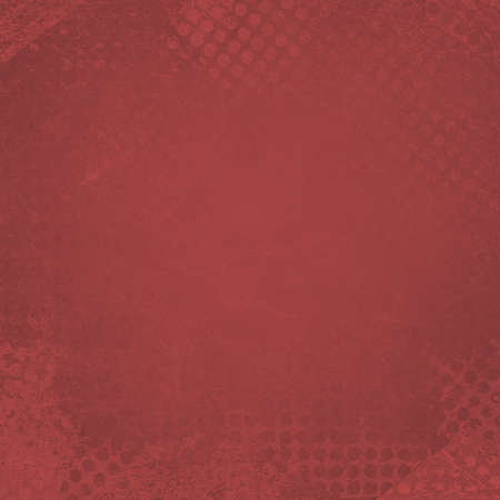 messy grunge red background paper with textured abstract grid pattern border