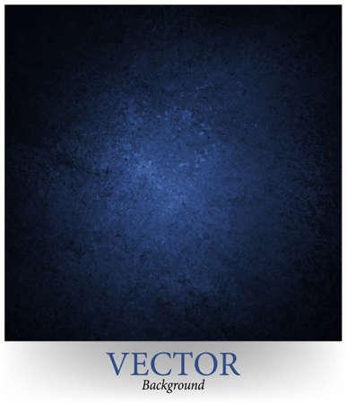 어두워: 파란색 배경 벡터, 블랙 림 테두리와 grunge 텍스처 일러스트