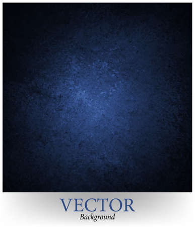 blue background vector, black vignette border and grunge texture