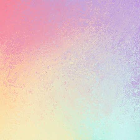 pastel spring color background with sponged texture design Standard-Bild