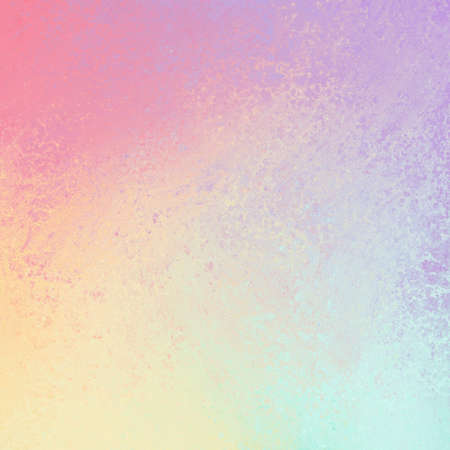 pastel spring color background with sponged texture design Archivio Fotografico