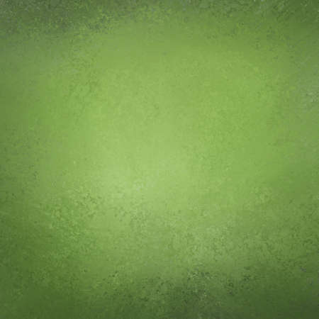 backgrounds: elegant green background texture paper, faint rustic grunge border paint design Stock Photo