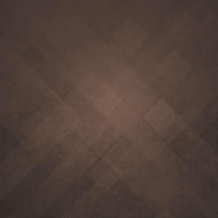 苦しめられたビンテージ テクスチャの三角形抽象的な現代美術デザイン背景正方形またはストライプ斜めライン デザイン要素茶色の幾何学的な背景