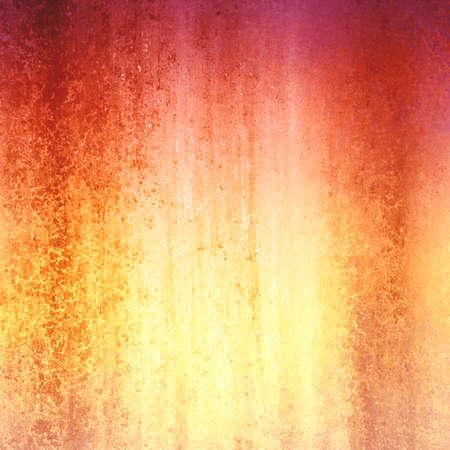 大まかな塗色テクスチャーと赤と金の背景色 写真素材