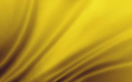 luxurious: Abstract gold background cloth of wavy folds of silk texture or satin material. Gold luxurious background design of elegant curved and draped yellow material