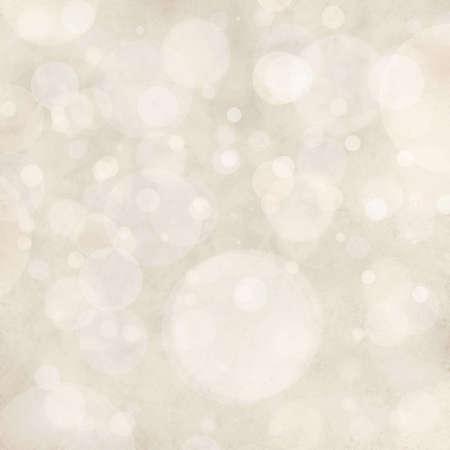 白い冒険背景ライト、フォーカス雪または雨の空、光沢のあるキラキラ ライトまたはフローティング バブル背景の円図形からぼやけ