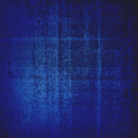 abstract blue background with random rust stripes and distressed texture photo
