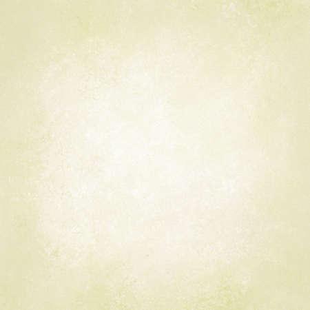 hintergrund: Pastell gelben Hintergrund Papier, weiß oder hell gold beige neutrale Farbgestaltung, Vintage Grunge Textur