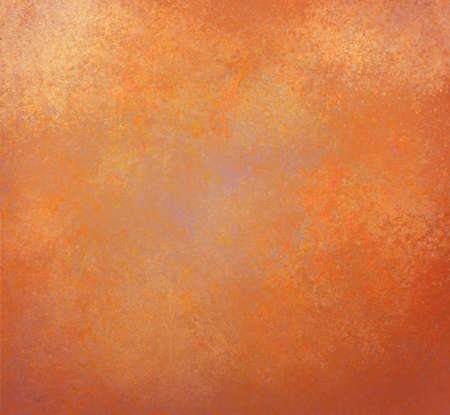 Rustic Gold Orange And Background With Vintage Textured Stock