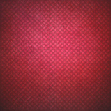 faint: abstract red background with faint detailed checkerboard pattern of small squares in graphic design element, faded and distressed vintage texture