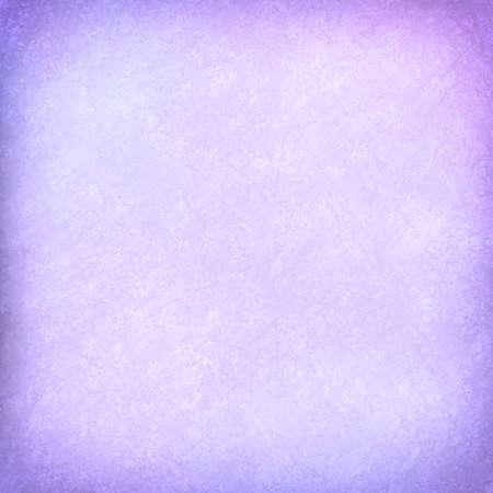 vintage background: pastel purple background with vignette border and vintage texture