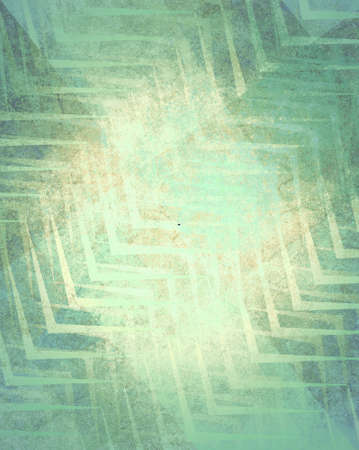 faint: abstract green faded pattern background design with texture and faint zigzag stripes Stock Photo