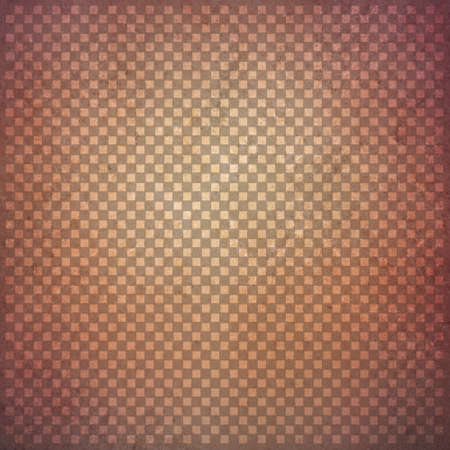 faint: abstract brown background with faint detailed checkerboard pattern of small squares in graphic design element, faded and distressed vintage texture