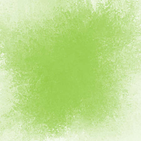 faded lime green background, vintage texture and faded white color, sponged distressed texture in soft blended brush strokes with dark center and light border