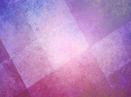 abstract pink purple background white checkered or striped pattern and blocks in diagonal lines with vintage pink texture photo