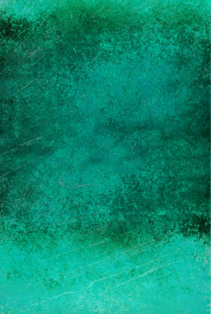 green background, gray vintage color stain and sponged distressed texture