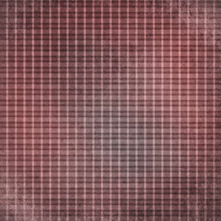 aded vintage red checker background, striped shabby chic line design element on distressed texture, red plaid Christmas background photo