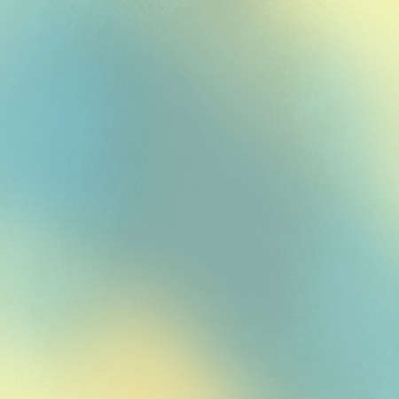 faint: abstract blue background with yellowed white corner borders and smooth blurred background texture layout, soft cloudy sky concept with vintage look Stock Photo