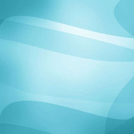 優雅な白のライン パターンの湾曲の抽象的な線と波背景のデザイン、白およびスカイブルーのレイヤー