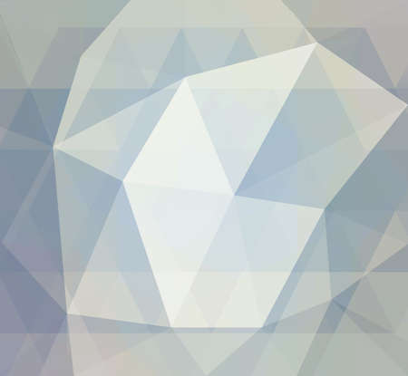 crystal background: blue low poly background with diamond facet or crystals texture concept