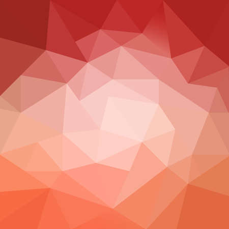 peachy: colorful abstract orange red pink and peach background with texture and white center spotlight Stock Photo