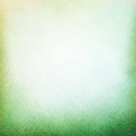 Classy hellgrünen Hintergrund mit hellen weißen Mitte Spot- und dunkleren Grün Grunge-Design Grenze Textur mit sanfter Beleuchtung Standard-Bild - 38490774
