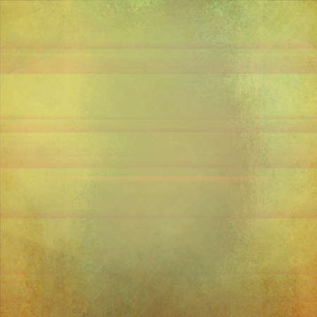yellowed: faded vintage background in yellowed gold blue and brown colors with faint stripes or horizontal line pattern Stock Photo