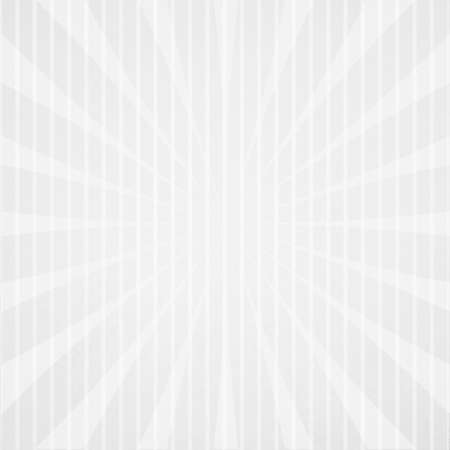 stripe: white and gray retro background design with starburst and pin stripe design elements