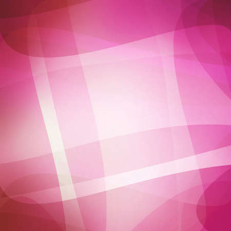 curving lines: abstract lines and waves background design, white and pink layers with graceful white curving lines pattern